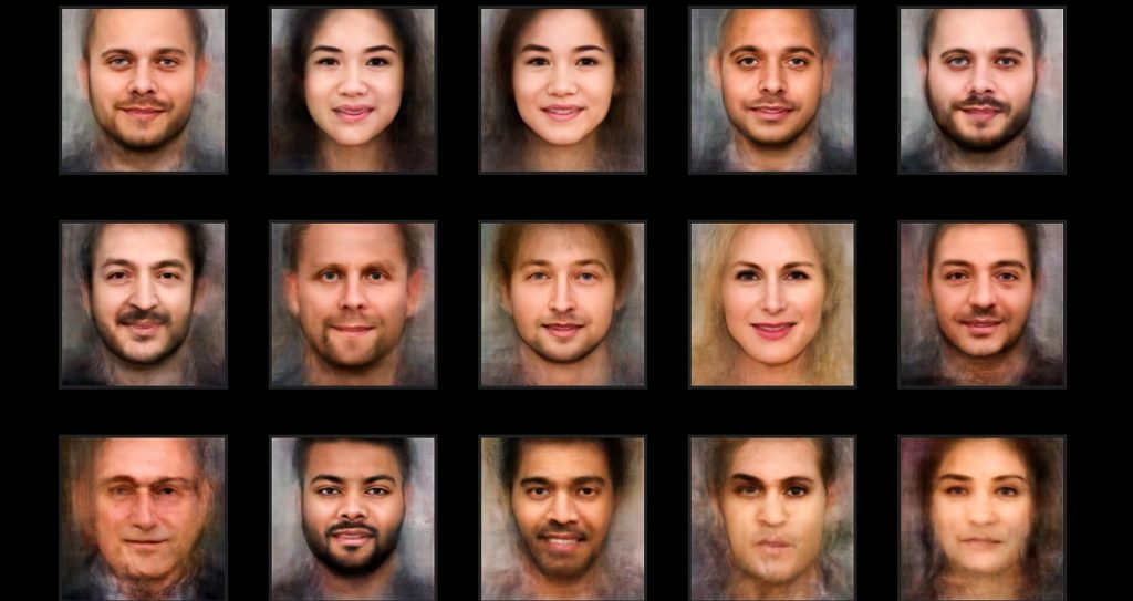 Ferrari Press Agency Ref 9822 Faces 1 08/11/2018 See Ferrari text Picture MUST credit : AIPortraits.com An online tool lets users find out what they look like as a portrait created using artificial intelligence.It builds up the image using algorithms and by overlapping the photos of actors.It uses generative adversarial networks ,known as GANs.The website lets you upload a photo and creates a resembling face by overlapping millions of actors??? photos. The developers of AI Portraits say the aim of the project is to share the experience of being portrayed by an AI algorithm.It is to discover how AI sees you, while there is no aim to improve or deform the starting picture.The images generated by AI Portraits are completely new and inspired by the face identified in the photos. There are no filters and visual effects, the portrait is generated by our Artificial Intelligence algorithms.IThe level of resemblance of the portrait is high but deliberately not too similar to the starting image. The intention is to share the experience of being portrayed by an AI algorithm, to discover how AI sees you. Users are told:??? What is real and what is fiction? ??sThe system is trained on millions of photos of actors and actresses. We are using the faces of people in front of the camera to activate portraits with our GAN. ??sThe result is an image that examines the concept of identity, pushing the boundaries between the individual that recognizes herself/himself and the collection of faces from the society of spectacle that are sedimented in the neural network. ??sMauro Martino, of Northeastern University , Boston, USA, the co-developer of Aiportraits.com, said:??? We use frontal images of actors to activate portraits.??sthe result is an image that examines the concept of identity, pushing the boundaries between the individual that recognizes herself/himself and the collection of faces that are sedimented in the neural network.???He created the site with Luca Stornaiuolo from th